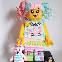 little people BIG IDEAS Lego Collaboration -  N-Pop Girl
