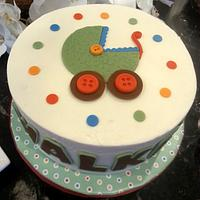 Baby Shower cake - Buggy