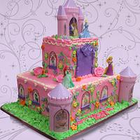 Princesses Pink Castle