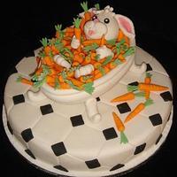 EASTER TREAT....REFRESHING CARROT BATH CAKE......