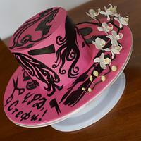 Cake for a Hairdresser