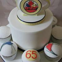 Moorlands Jug Cake. by Dulcie Blue Bakery ~ Chris