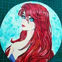 Handpainted disney princess