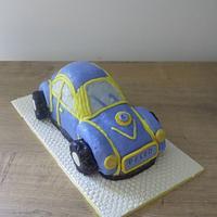 Peled's Comical Car Cake
