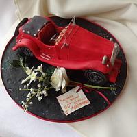 1936 MG PB Midget Cake