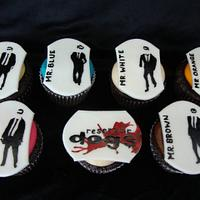 Reservoir Dog Cupcakes