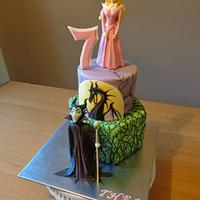 Sleeping Beauty, Maleficent Cake.