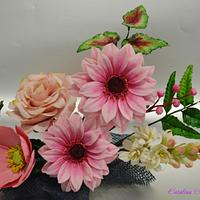 rose spring bouquet