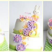 bunny cake by Emmy