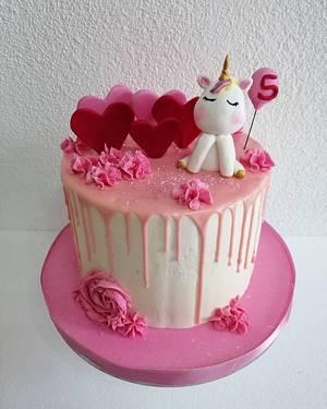 Unicorn cake - Cake by Elmmich