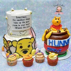 Winnie the Pooh cake - Cake by Sarah's Cakes