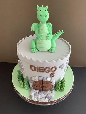 Happy Dragon!  - Cake by Penny Sue