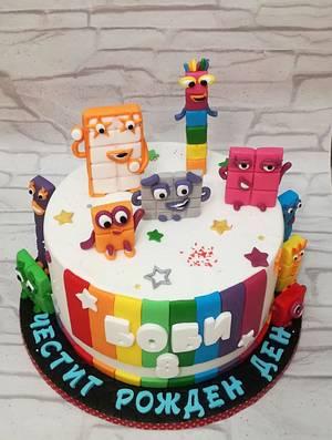 Numberblocks cake - Cake by Rositsa Lipovanska