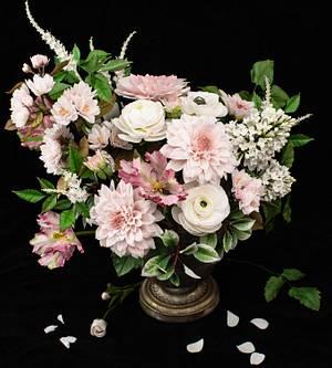 Flower bouquet 💗 - Cake by Erika Amelia Ersek