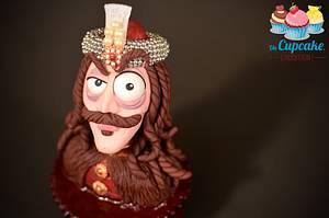 Cupcake « Vlad Țepeș » - Cake by Un Cupcake, l'Addition !