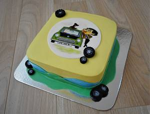 Painted cake  - Cake by Janka
