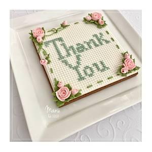 Thank You cookie - Cake by Manu biscotti decorati