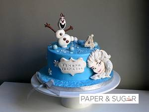 Frozen cake - Cake by Dina - Paper and Sugar