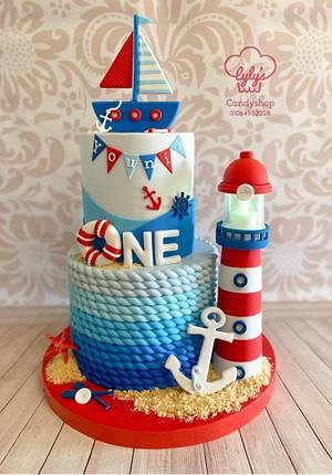 ⚓️  Nautical Theme - Cake by Maaly
