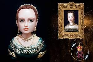 Maria De Cosme De Medici  - Cake by golosamente by linda