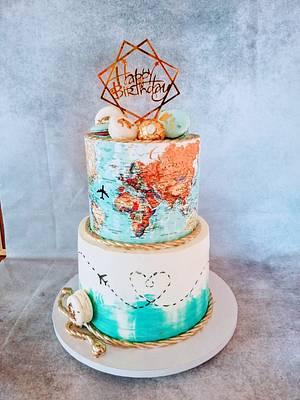 Travel cake - Cake by alenascakes