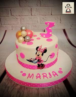 """""""Minnie Mouse Cake"""" - Cake by Noha Sami"""