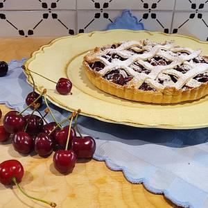 Crostata di ciliegie 🍒 - Cake by CupClod Cake Design