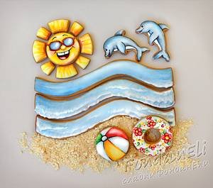 Summer - Cake by FondanEli