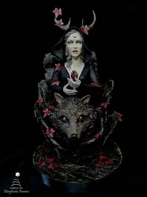 Darkness - Cake by Fashflower's cake by Margherita Ferrara