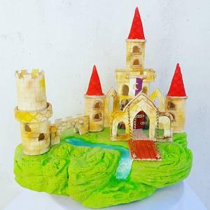 Torta Castillo. - Cake by @lodejuanita lo_de_juanita_1_deco_tortas