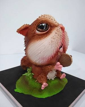 "Torta  ""Ardillita"" - Cake by SONIA PORCÚ"