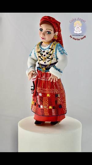 Portugal Wonders in Sugar Collaboration - Cake by Cake Angel by Marisa Kemp