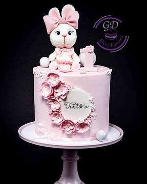 Little, sweet rabbit cake - Cake by Glorydiamond