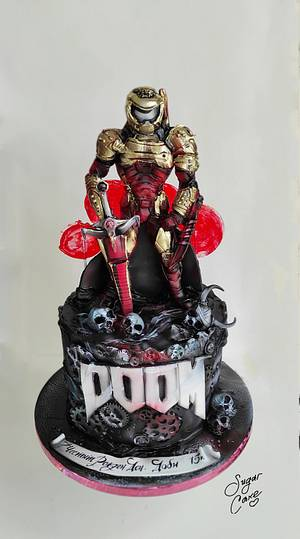 DOOM Cake - Cake by Tanya Shengarova