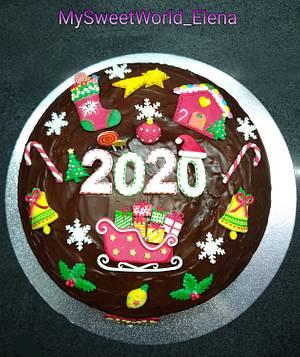 2020 Best Wishes  - Cake by My Sweet World_Elena