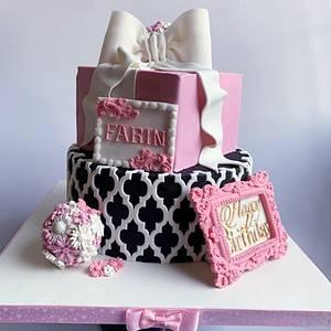18th birthday cake  - Cake by Razia
