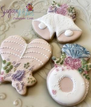 Wedding Cookies  - Cake by Tina Tsourtsoulas