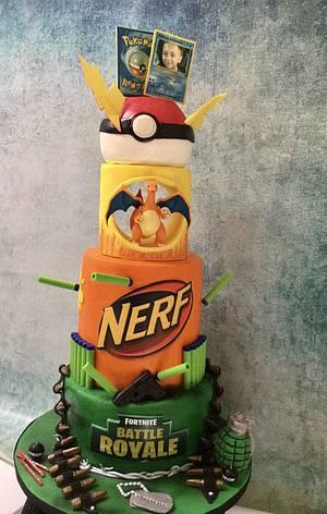 Can't make up my mind cake - Cake by Margie