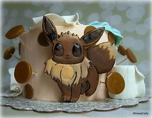 Eevee sugar cookie - Cake by Sweet Dreams by Heba