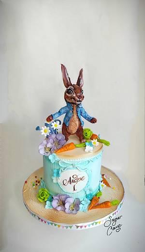 Peter the rabbit 🐰 - Cake by Tanya Shengarova