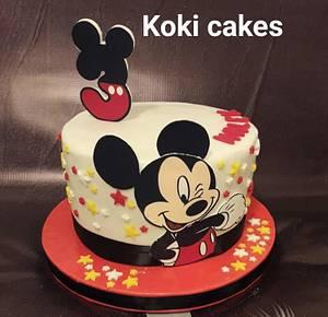 Mickey Mouse cake - Cake by Noha Sami