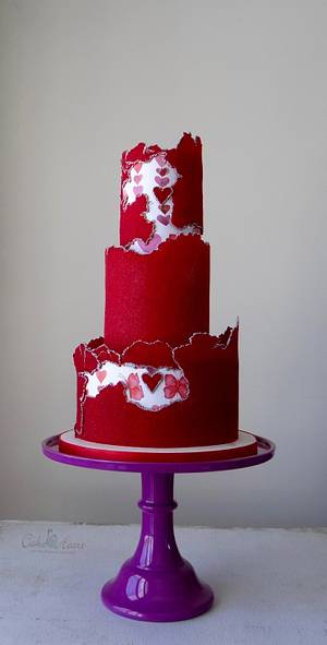 Be my Valentine - Cake by Cake Heart