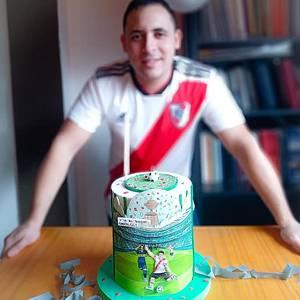 Torta de la jugada emblemática. - Cake by Sayi Congregado