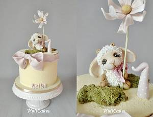 Little sheep  - Cake by MOLI Cakes