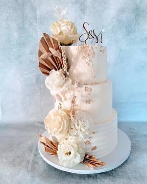Wedding  - Cake by alenascakes