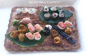 It's time for sushi! - Cake by Manuela