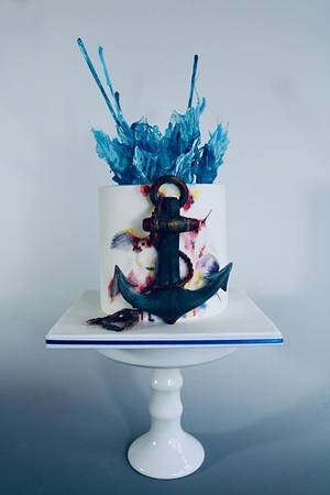Nautical cake - Cake by tomima