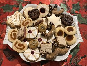 Christmas biscuits - Cake by Snezana