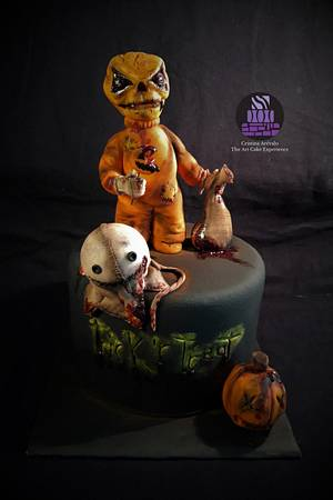 Sam- Creepy World - Cake Art Collaboration - Cake by Cristina Arévalo- The Art Cake Experience
