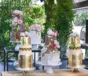1 wedding 5 cakes! - Cake by Lulubelle's Bakes